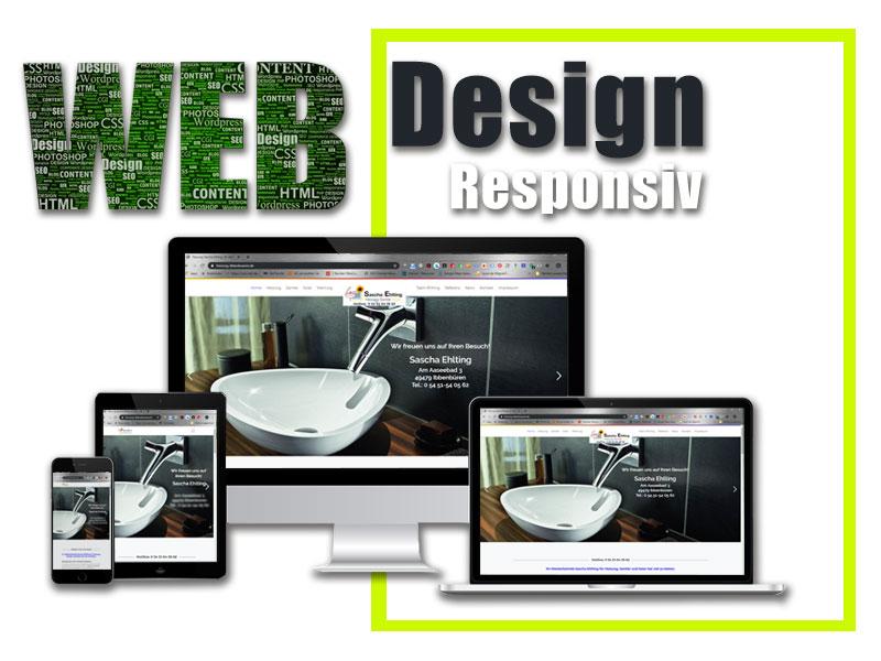 IT-Beratung Lammering, Webdesign